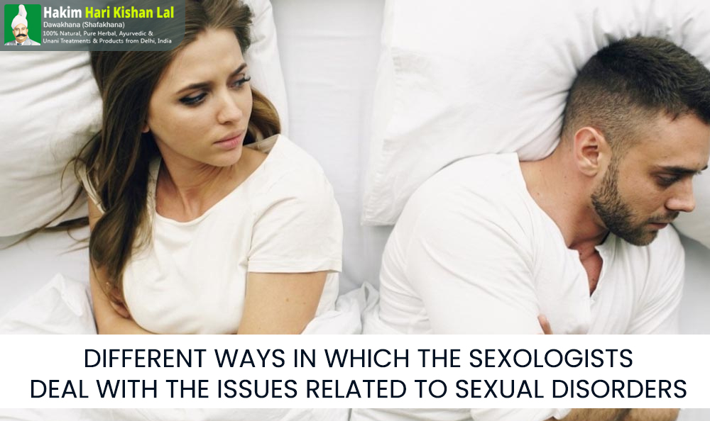 Different Ways In Which The Sexologists Deal With The Issues Related To Sexual Disorders